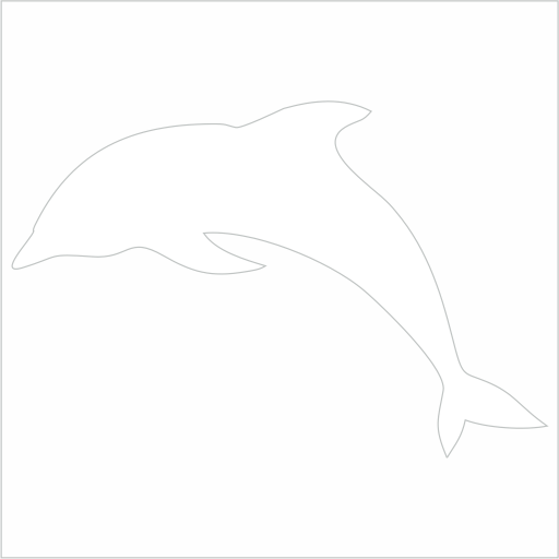 Samolepka Delfín - zvìtšit obrázek