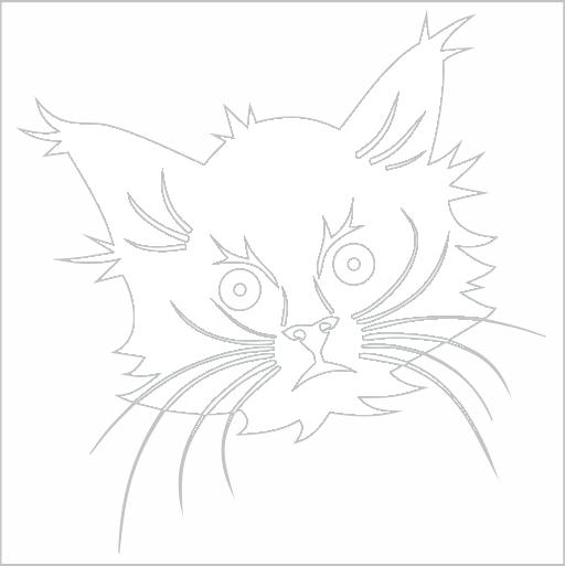 Samolepka Koèka - zvìtšit obrázek