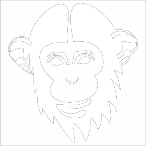Samolepka Opice - zvìtšit obrázek