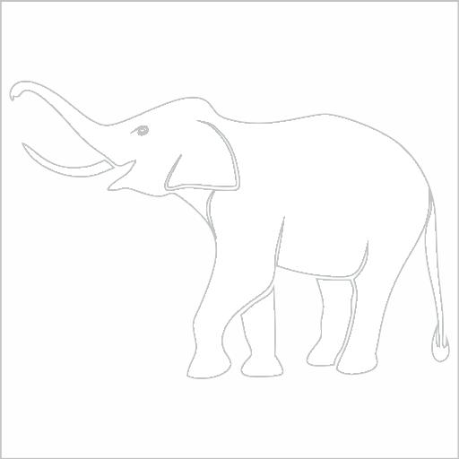 Samolepka Slon