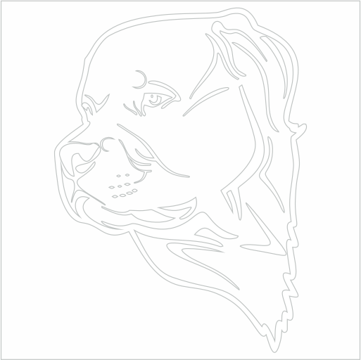 Samolepka Pes