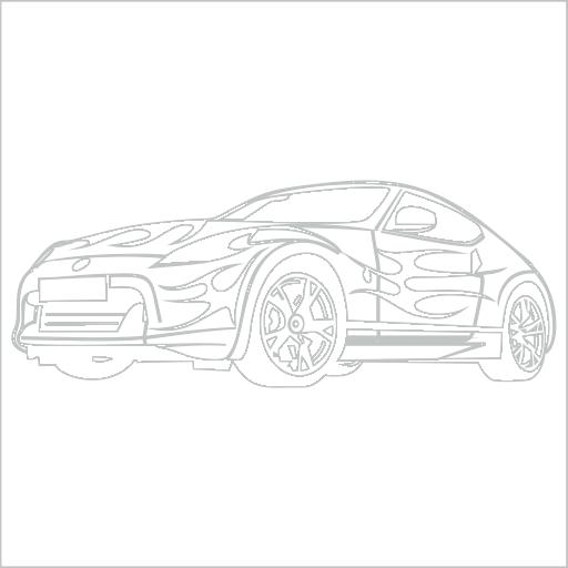 Samolepka Sportovní auto