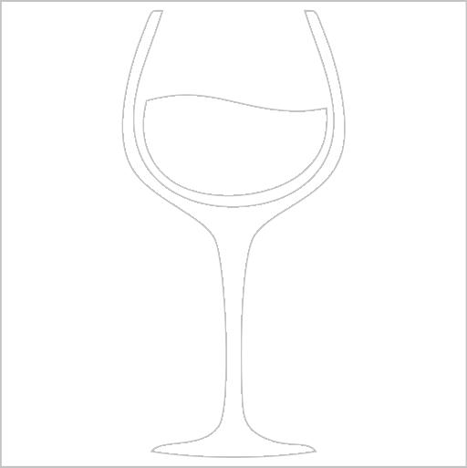 Samolepka Sklenice vína