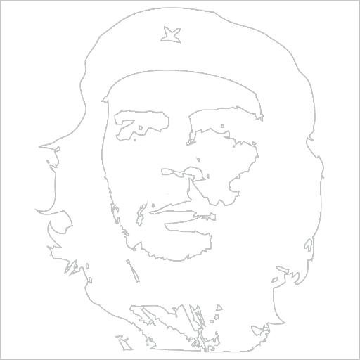 Samolepka Che Guevara