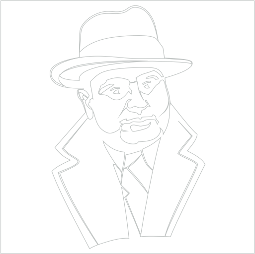 Samolepka Al Capone
