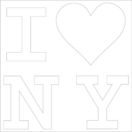 Samolepka I love New York