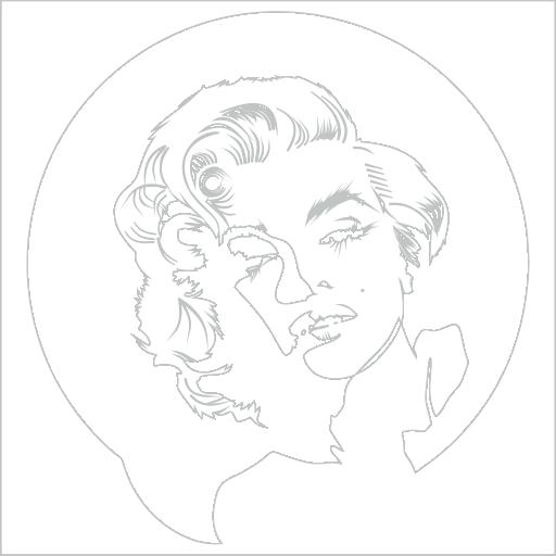 Samolepka Marilyn Monroe