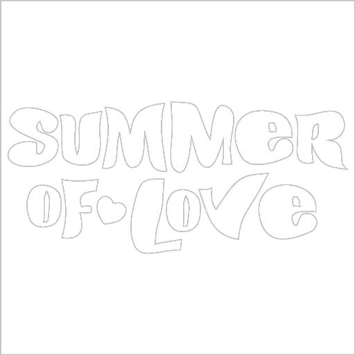 Samolepka Summer of love