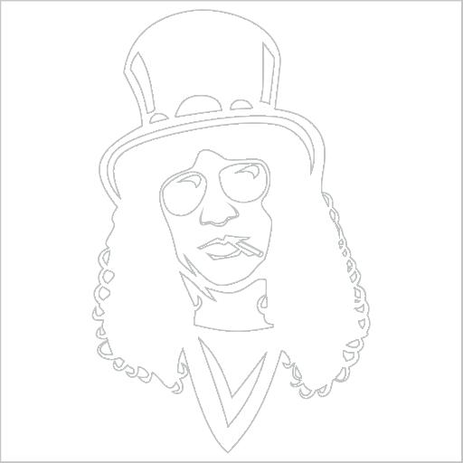 Samolepka Slash