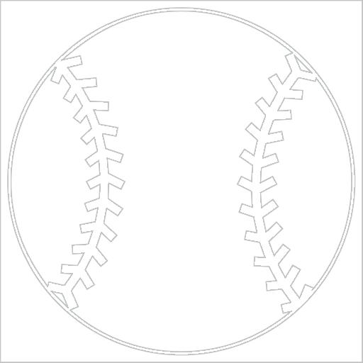 Samolepka Baseballový míè