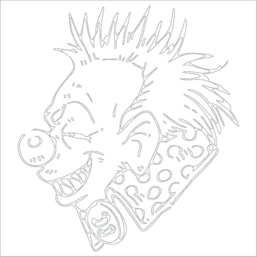 Samolepka Klaun
