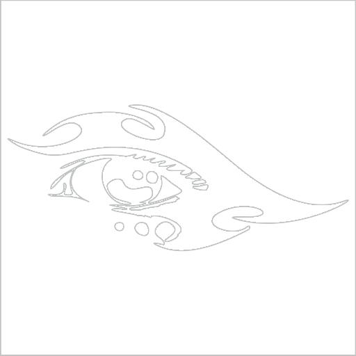 Samolepka Oko
