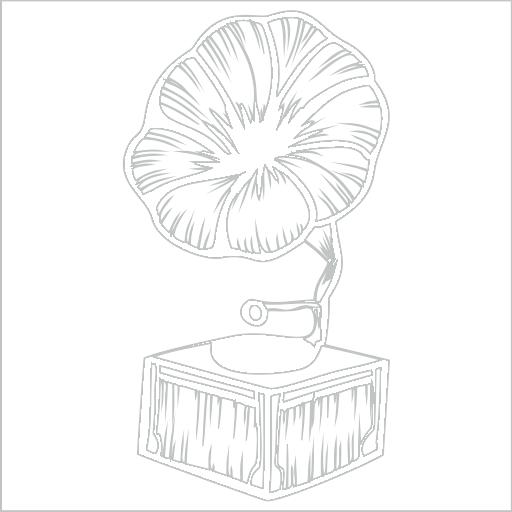 Samolepka Gramofon