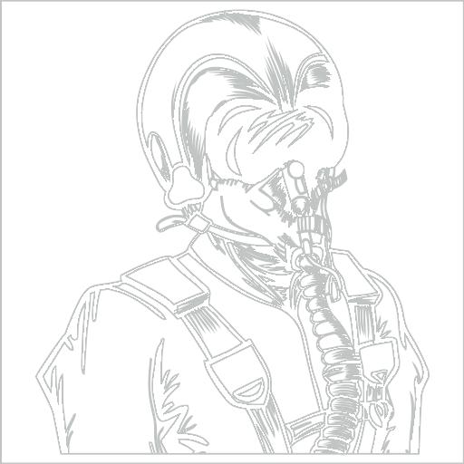 Samolepka Pilot