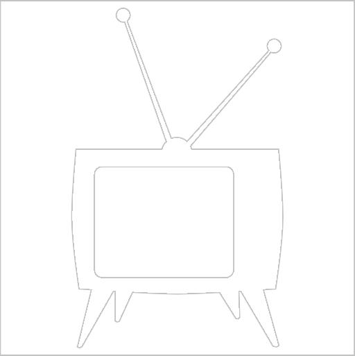 Samolepka Televize