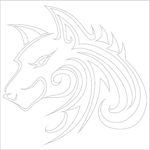 Samolepka Šelma tetování
