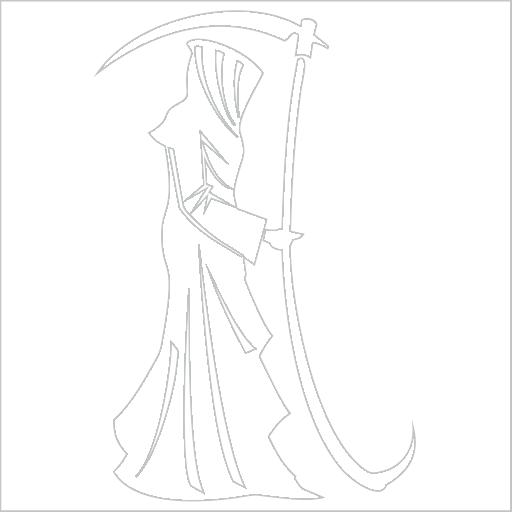 Samolepka Smrtka - zvìtšit obrázek