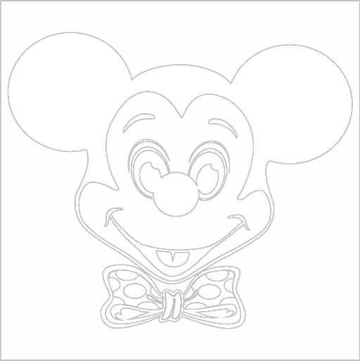 Samolepka Mickey Mouse - zvìtšit obrázek