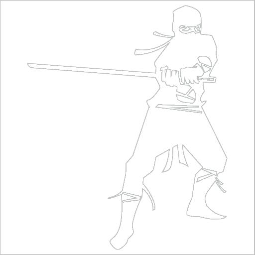Samolepka Ninja