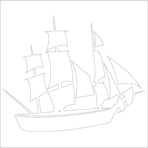 Samolepka Pirátská loï - zvìtšit obrázek