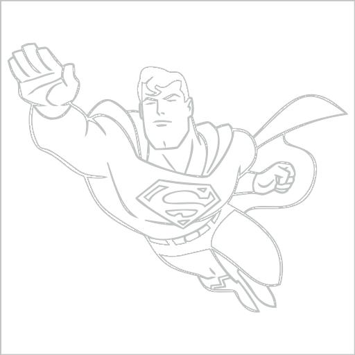 Samolepka Superman - zvìtšit obrázek