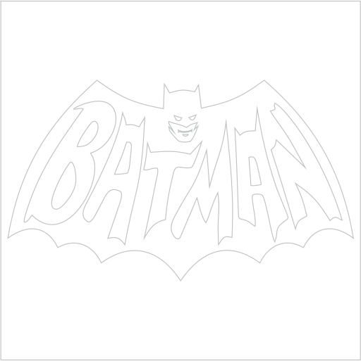 Samolepka Batman - zvìtšit obrázek