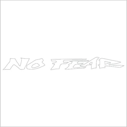 Samolepka na zadní sklo No Fear - zvìtšit obrázek