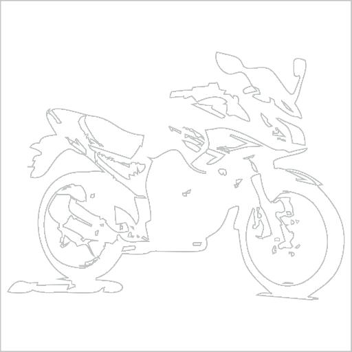 Samolepka Motorka silnièní enduro