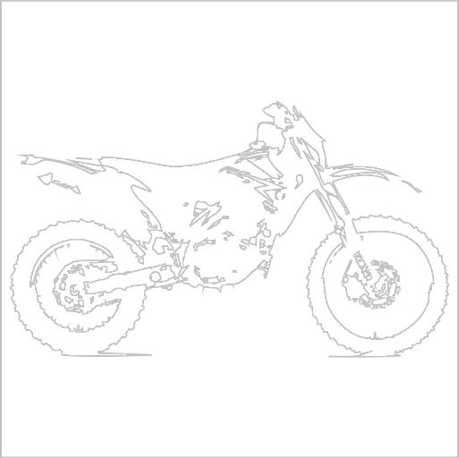 Samolepka Motorka cross