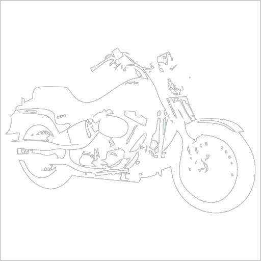 Samolepka Motorka chopper