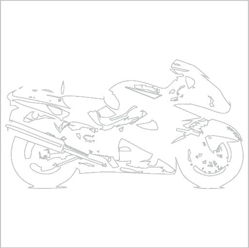 Samolepka Motorka silnièní