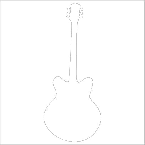 Samolepka Kytara