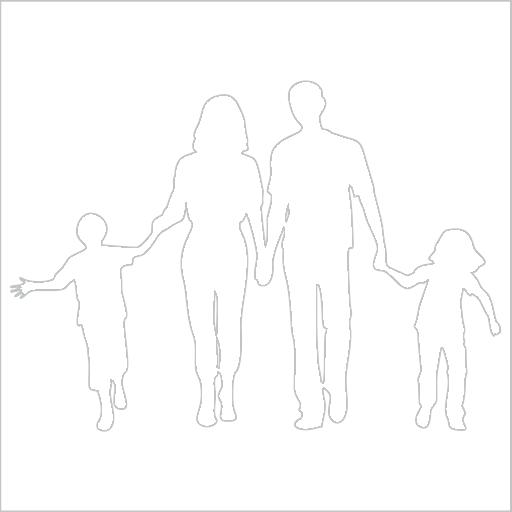 Samolepka Rodina