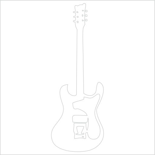 Samolepka Elektrická kytara - zvìtšit obrázek