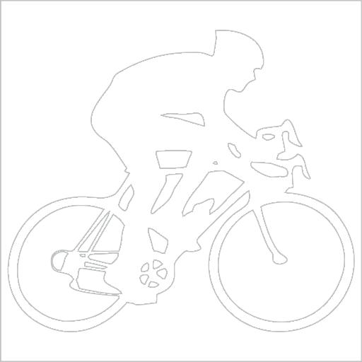 Samolepka Cyklista