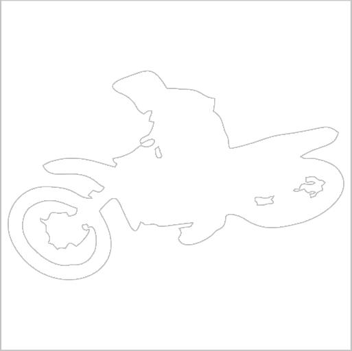 Samolepka Free style motocross - zvìtšit obrázek
