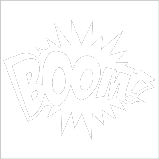 Samolepka Boom - zvìtšit obrázek