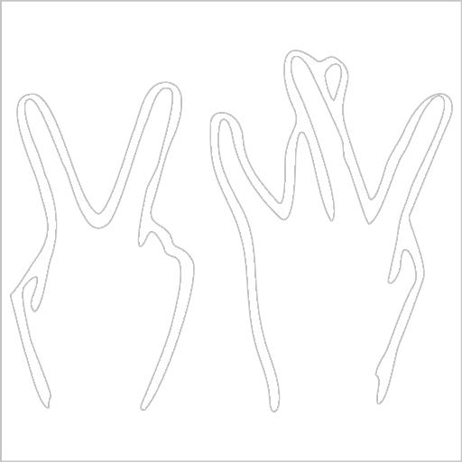 Samolepka Ruce - zvìtšit obrázek