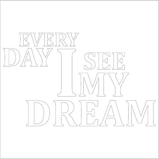 Samolepka My dream
