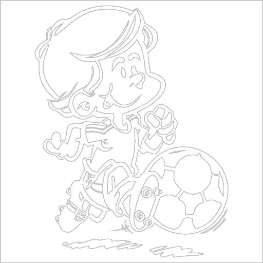 Samolepka Fotbalista - zvìtšit obrázek