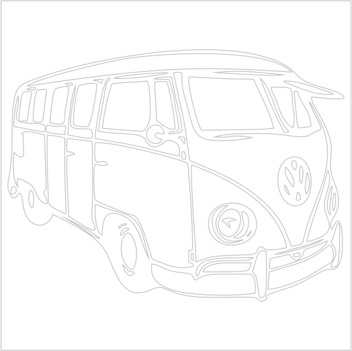 Samolepka VW T1 - zvìtšit obrázek