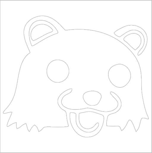 Samolepka Pedobear - zvìtšit obrázek