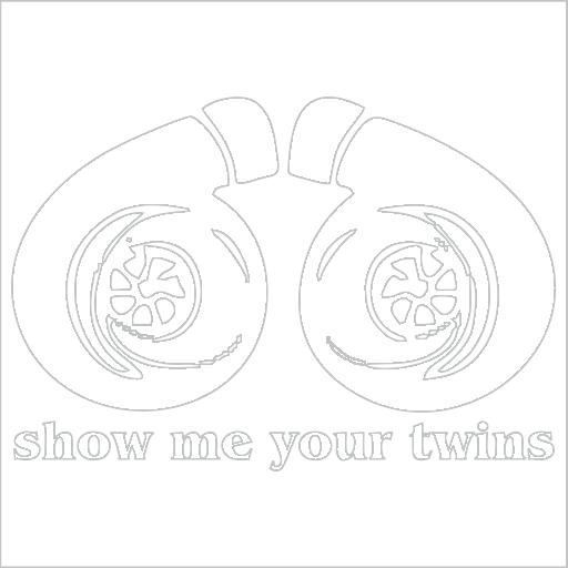 Samolepka Show me your twins - zvìtšit obrázek