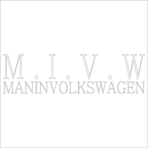 Samolepka Man In Volkswagen - zvìtšit obrázek