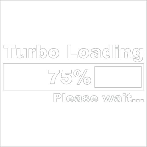 Samolepka Turbo loading - zvìtšit obrázek