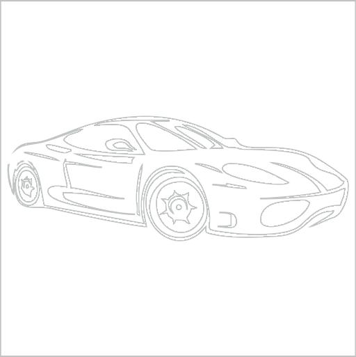 Samolepka Ferrari