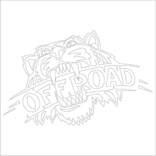 Samolepka Offroad - zvìtšit obrázek