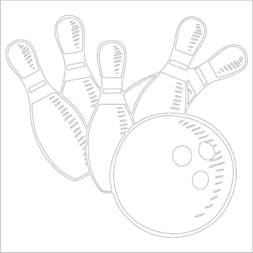 Samolepka Bowling