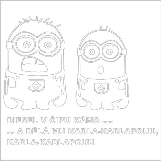 Samolepka Diesel v èipu - zvìtšit obrázek