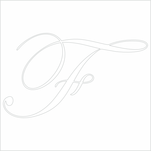 Samolepka Písmeno F
